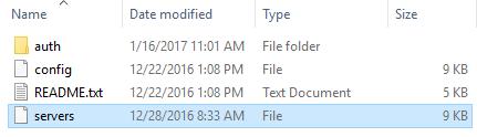 TortoiseSVN Setting files
