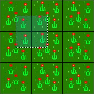Flower Tile 3