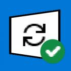 Update Status Icon