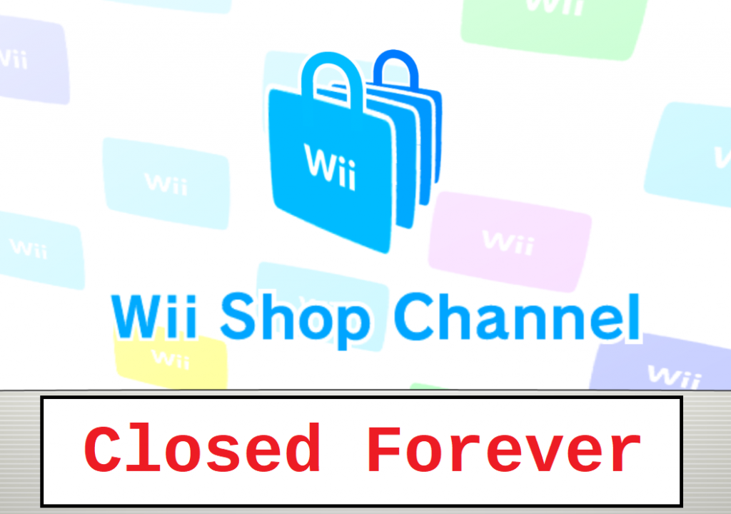 Nintendo Wii Store Closed Forever
