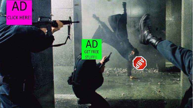 Ad blocker battle