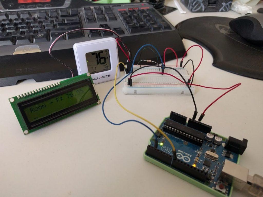 Temperature Sensor Test