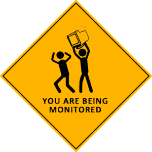 You are being monitored by search engines