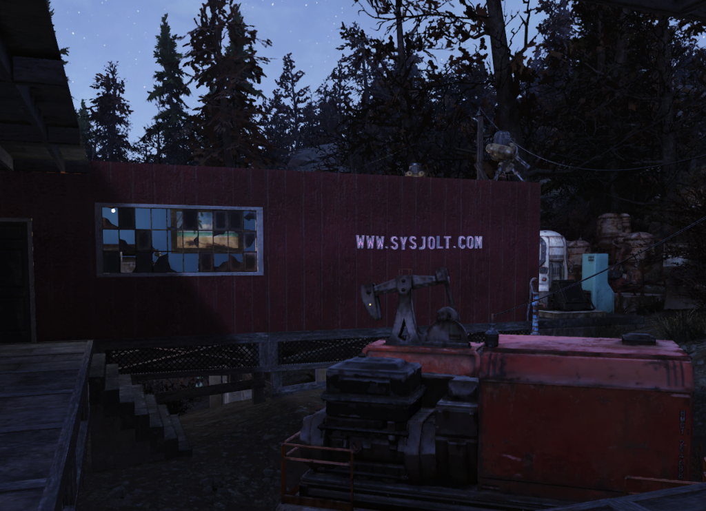 My Fallout 76 camp