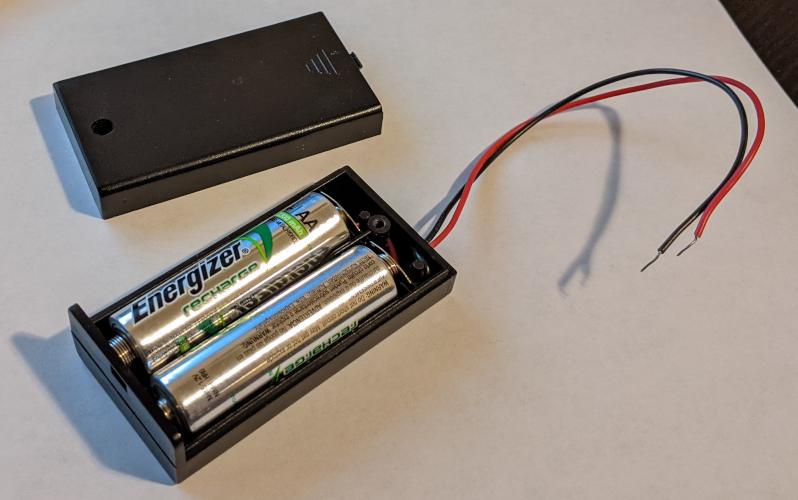 Battery case.