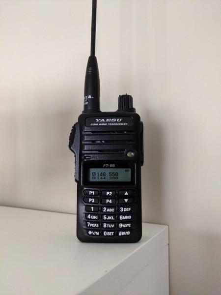 Ham Radio Yaesu FT-65r