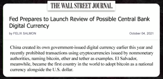 Fed Prepares to Launch Review of Possible Central Bank Digital Currency